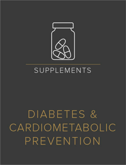Diabetes & Cardiometabolic Prevention