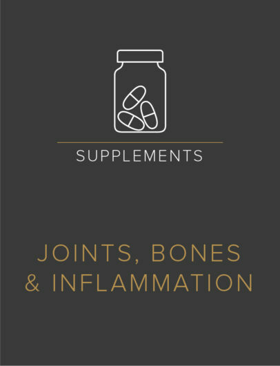 Joints, Bones & Inflammation